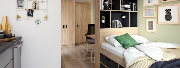 Host Southampton Crossings - Student Accommodation in Southampton studio