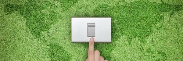 Global Recycling Day Energy Saving Switch