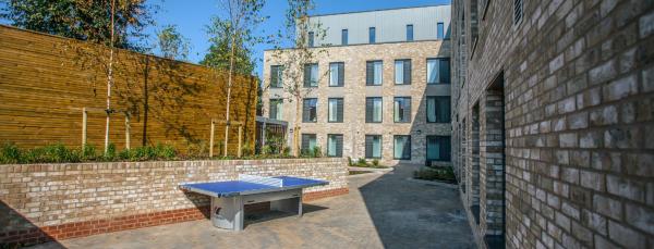 27 Magdalen Street external courtyard