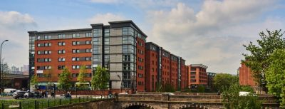 Student Accommodation - Central Quay From riverbank
