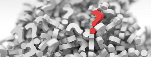 Host Friday Quiz Question Mark