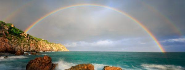 rainbow-over-the-sea