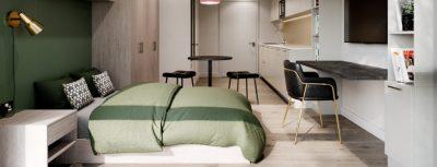 The Hive refurbishment- deluxe room