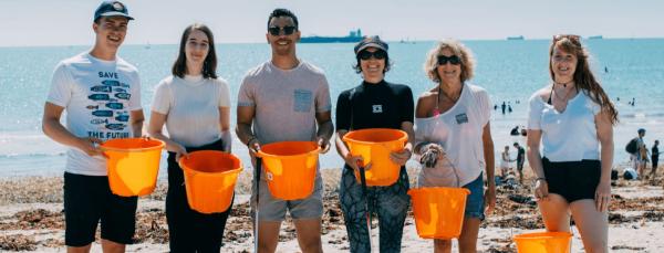Planet Patrol Beach Clean Up